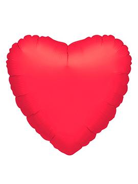 Globo Corazón Rojo Gigante 80 cm