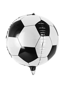 Globo de balón de fútbol foil