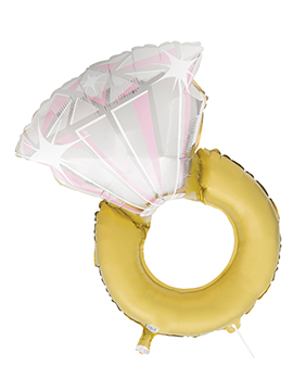 Globo Foil Anillo Diamante
