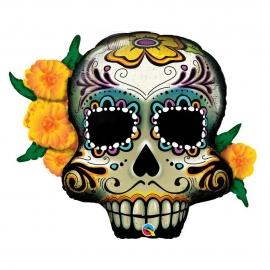 Globo de foil Día de los Muertos 95 cm