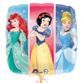 Globo de Foil Doble Cara Princesas 45 cm