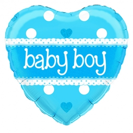 Globo de foil Holográfico Baby Boy
