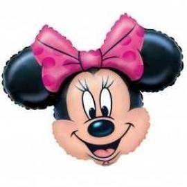 Globo de Minnie Mouse cabeza