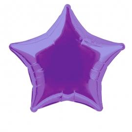 Globo Estrella Violeta 50 cm