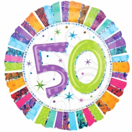 Globo Feliz 50 Cumpleaños