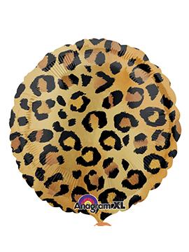 Globo Foil Leopardo 42 cm