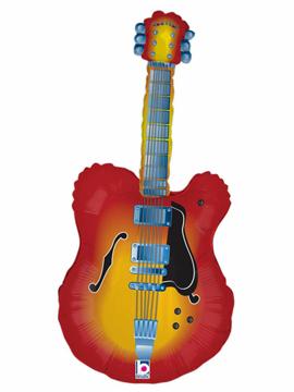 Globo Foil Guitarra Eléctrica 109 cm