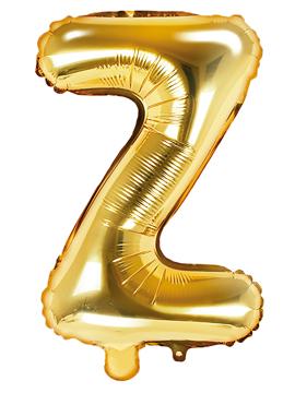 Globo Foil Letra Z Dorado 35 cm