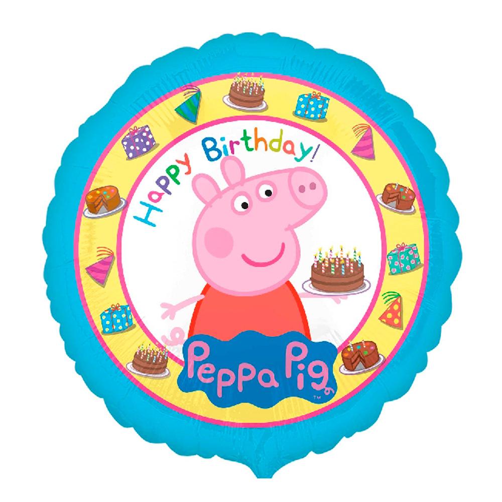 Globo Foil Peppa Pig 43 Cm Envio 24 Horas