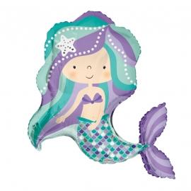 Globo Foil Sirena 90 cm