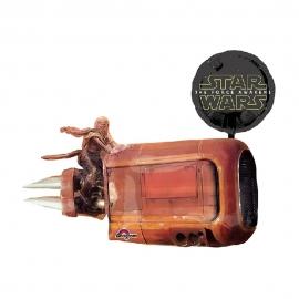 Globo Foil Star Wars Deslizador de Rey 80 cm