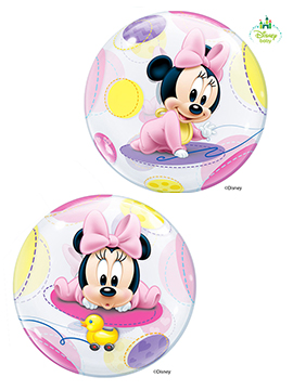 Globo Gigante 2 Caras Baby Minnie Mouse 56 cm