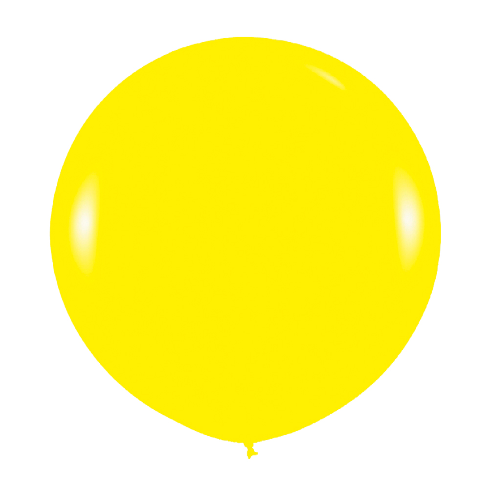 Globo Gigante Amarillo 90 cm