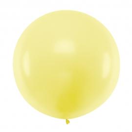 Globo Gigante Amarillo Suave 1 m