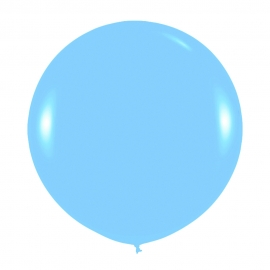 Globo Gigante Azul Celeste 90 cm