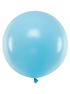 Globo Gigante Azul Claro 60 cm