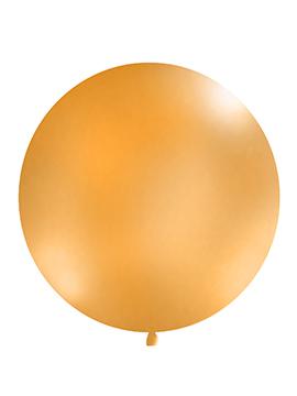 Globo Gigante Naranja Pastel 1 m