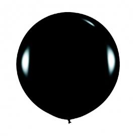 Globo Gigante Negro 90 cm