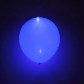 Globo LED color Azul 5 Unidades