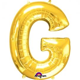 Globo Letra G 40 cm Dorado