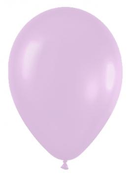 Pack de 10 globos lila satinado