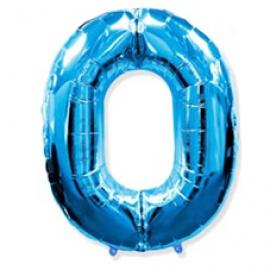 Globo Nº0 Azul 1m