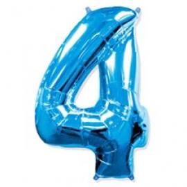 Globo Nº4 Azul 1m