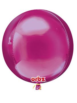 Globo Orbz Fucsia 40 cm