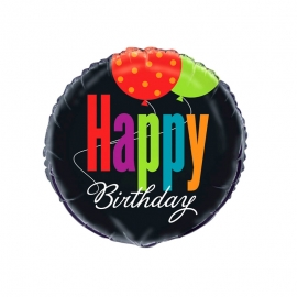 Globo Foil Happy Birhday 45 cm
