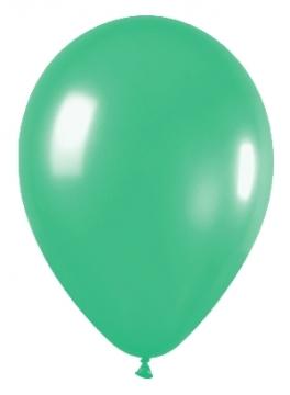 Pack de 10 globos verde mate