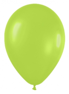 Pack de 10 globos verde neón