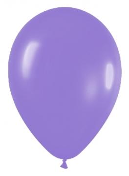 Pack de 10 globos lila mate