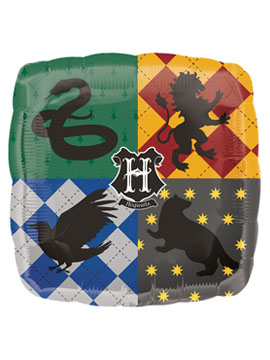 Globo Foil Hogwarts Harry Potter 43 cm