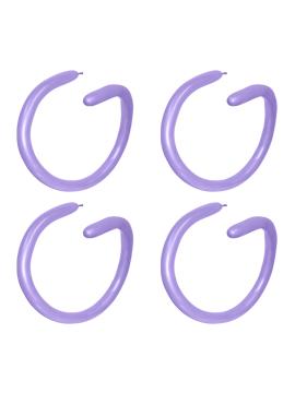 Globos alargados para globoflexia lavandas de 160S