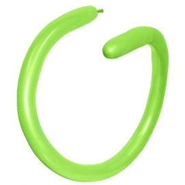 Globos alargados para globoflexia Verde Lima 260S