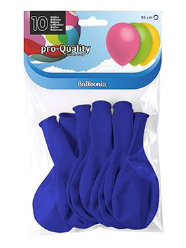 Globos Azul Marino Mate 30 cm