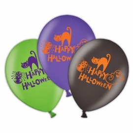 Globos de latex Feliz Halloween