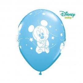 Pack de 6 Globos Mickey Mouse Bebé 30 cm