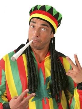 Gorra Jamaicana con Trenzas