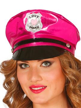 Gorra Policía Rosa Sexy