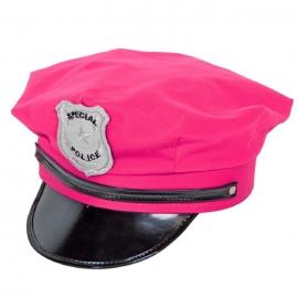 Gorra Policía Rosa