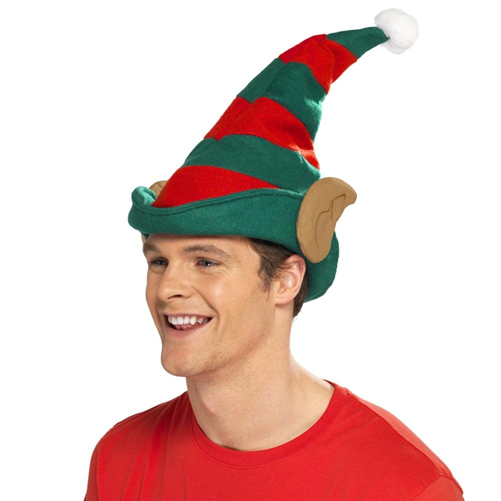 Gorro Elfo a Rayas con Orejas