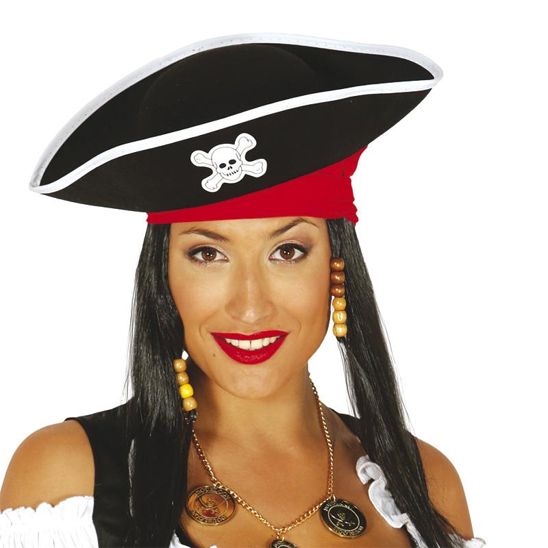 Gorro Pirata de Fieltro Adulto