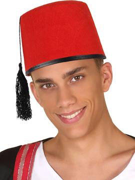 Gorro Árabe Rojo
