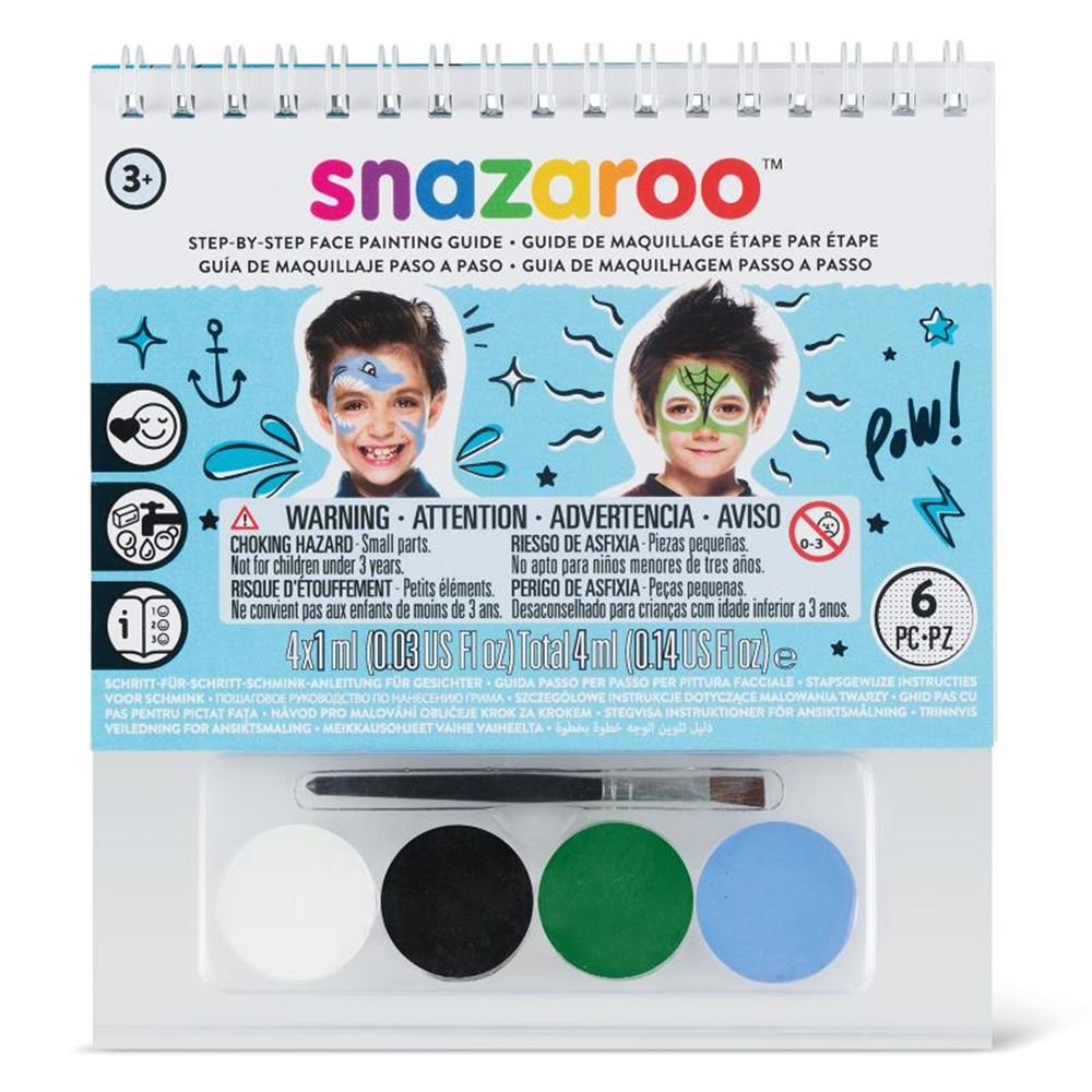 Guía Maquillaje Paso a Paso Infantil 1