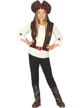 Disfraz Pirata de los 7 Mares Infantil