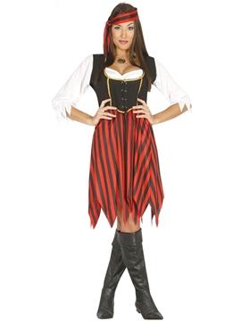 Disfraz Pirata de Ultramar Mujer
