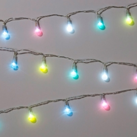 Guirnalda de Bombillas LED Pastel