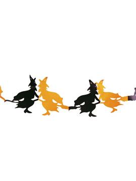 Guirnalda Halloween Brujas 3 m