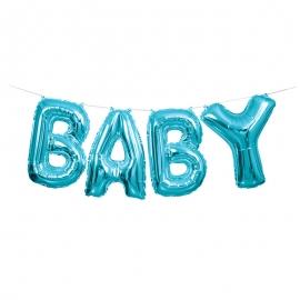 Guirnalda de Globos Baby Azul